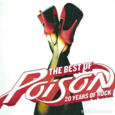 CDs de Música: POISON - THE BEST OF POISON 20 YEARS OF ROCK. Lote 168515860