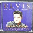 CDs de Música: ELVIS WITH THE ROYAL PHILARMONIC ORCHESTRA - THE WONDER OF YOU - CD. Lote 168551824