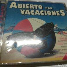 CDs de Música: ABIERTO POR VACACIONES 10 ÉXITOS DE SIEMPRE - NUEVO Y PRECINTADO. Lote 168554380
