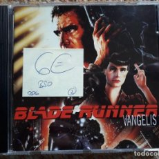 CDs de Música: BLADE RUNNER , VANGELIS , CD 1994 , BSO , ESTADO IMPECABLE . Lote 168591124