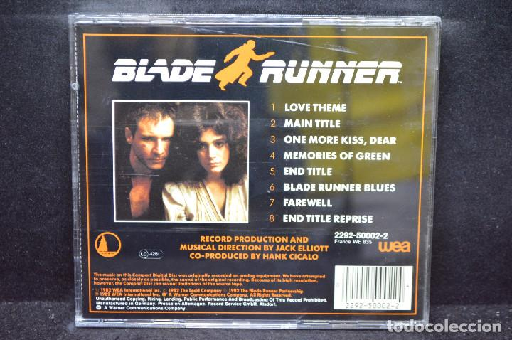 CDs de Música: The New American Orchestra - Blade Runner - CD - Foto 2 - 168597412