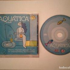 CDs de Música: CD ORIGINAL - AQUATICA H2O - RELAJANTE - AMBIENTAL. Lote 168599052
