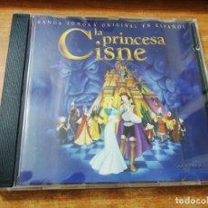 CDs de Música: MONICA NARANJO & MIKEL HERZOG LA PRINCESA CISNE BANDA SONORA CD EN ESPAÑOL CD MUY BUSCADO. Lote 229012185