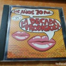 CDs de Musique: LA DECADA PRODIGIOSA LOS AÑOS 70 CD ALBUM DEL AÑO 1987 7 TEMAS MUY RARO EN CD CECILIA BLANCO. Lote 232446240