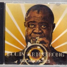 CDs de Música: LOUIS ARMSTRONG - SATCHMOS HITS (CD 1989, WORL STAR COLLECTION WSC 99012). Lote 168626848