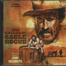 CDs de Música: THE BALLAD OF CABLE HOGUE / JERRY GOLDSMITH CD BSO. Lote 168637984
