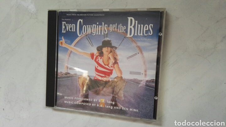 EVEN COWGIRLS GET THE BLUES BSO TOM ROBBINS (Música - CD's Bandas Sonoras)