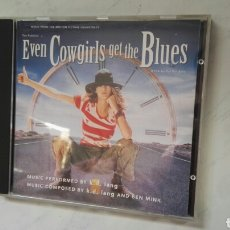 CDs de Música: EVEN COWGIRLS GET THE BLUES BSO TOM ROBBINS. Lote 168643804