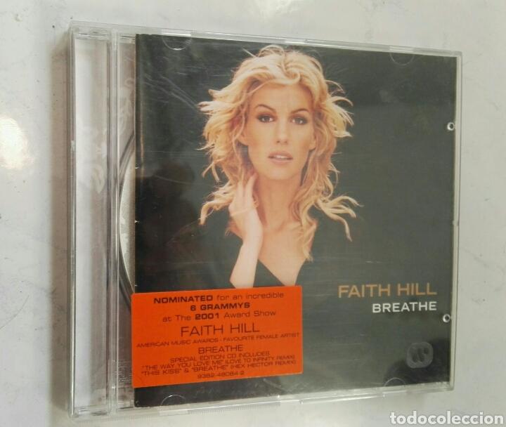 FAITH HILL BREATHE CD ÁLBUM SPECIAL EDITION (Música - CD's Pop)