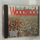 CDs de Música: LA LEYENDA DE WOODSTOCK CD VOL 1. Lote 168647354