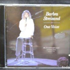CDs de Música: BARBRA STREISAND - ONE VOICE - CD. Lote 168672988