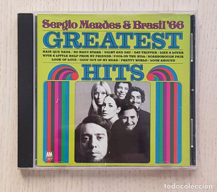 SERGIO MENDES & BRASIL'66. GREATEST HITS. (CD MUSIC) - SERGIO MENDES (Música - CD's Latina)