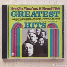 CDs de Música: SERGIO MENDES & BRASIL'66. GREATEST HITS. (CD MUSIC) - SERGIO MENDES. Lote 168682953