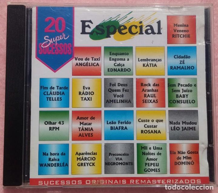 20 SUPER SUCESSOS SPECIAL (SONY) /// ED. BRASIL ORIGINAL, RARO /// SAMBA / AXÉ / FORRÓ / BOSSA NOVA (Música - CD's World Music)