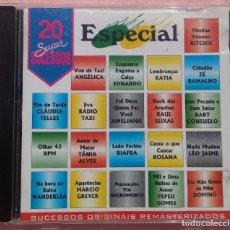 CDs de Música: 20 SUPER SUCESSOS SPECIAL (SONY) /// ED. BRASIL ORIGINAL, RARO /// SAMBA / AXÉ / FORRÓ / BOSSA NOVA . Lote 168715476