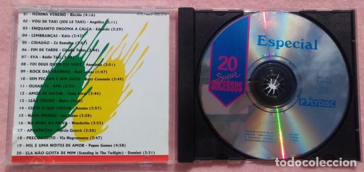CDs de Música: 20 Super Sucessos Special (Sony) /// ED. BRASIL ORIGINAL, RARO /// SAMBA / AXÉ / FORRÓ / BOSSA NOVA - Foto 2 - 168715476