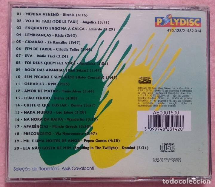 CDs de Música: 20 Super Sucessos Special (Sony) /// ED. BRASIL ORIGINAL, RARO /// SAMBA / AXÉ / FORRÓ / BOSSA NOVA - Foto 3 - 168715476