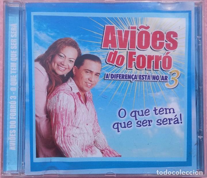 AVIÕES DO FORRÓ – VOL. 3, A DIFERENÇA ESTÁ NO AR (EZAPSOM) /// ED. BRASIL ORIGINAL, RARO /// SAMBA (Música - CD's World Music)