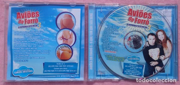 CDs de Música: Aviões do Forró – Vol. 3, A Diferença Está No Ar (Ezapsom) /// ED. BRASIL ORIGINAL, RARO /// SAMBA - Foto 2 - 168715864