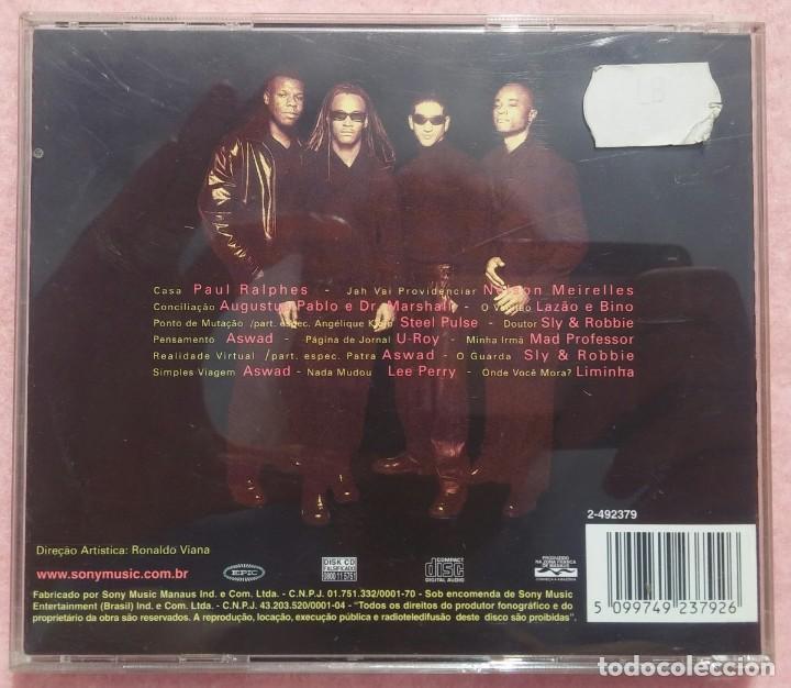 CDs de Música: Cidade Negra – Dubs (Epic / Sony) /// ED. BRASIL ORIGINAL, RARO /// SAMBA / AXÉ / FORRÓ / REGGAE - Foto 3 - 168717032