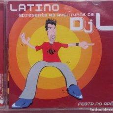 CDs de Música: LATINO - AS AVENTURAS DE DJL (EMI, 2004) /// ED. BRASIL ORIGINAL, RARO /// SAMBA / AXÉ / FORRÓ . Lote 168718140
