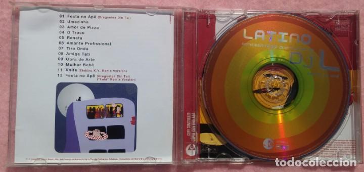 CDs de Música: Latino - As Aventuras de DjL (EMI, 2004) /// ED. BRASIL ORIGINAL, RARO /// SAMBA / AXÉ / FORRÓ - Foto 2 - 168718140