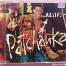 CDs de Música: PATCHANKA - AO VIVO (UNIVERSAL MUSIC, 2001) /// ED. BRASIL ORIGINAL, RARO /// SAMBA / AXÉ / FORRÓ . Lote 168720004