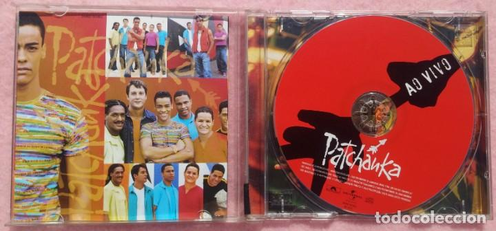 CDs de Música: Patchanka - Ao Vivo (Universal Music, 2001) /// ED. BRASIL ORIGINAL, RARO /// SAMBA / AXÉ / FORRÓ - Foto 2 - 168720004
