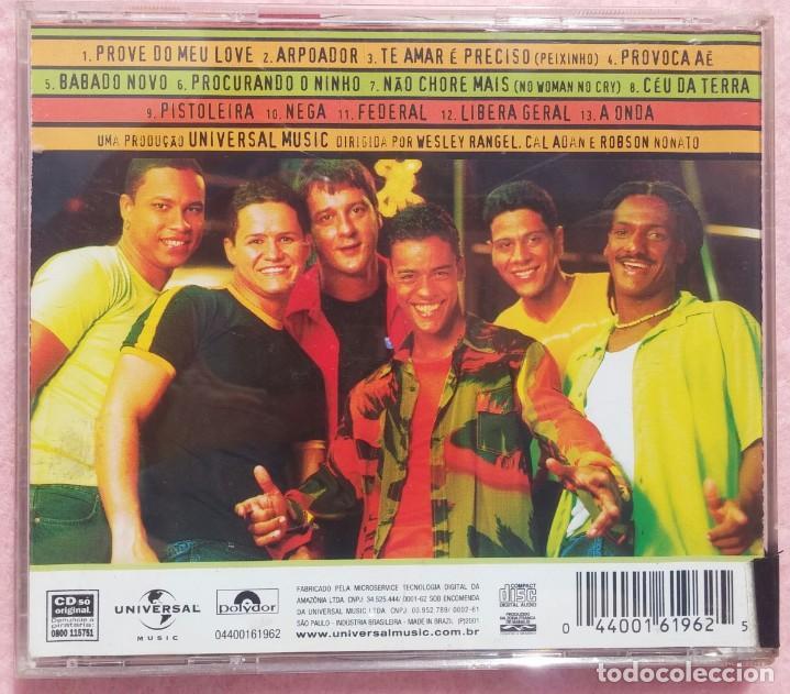 CDs de Música: Patchanka - Ao Vivo (Universal Music, 2001) /// ED. BRASIL ORIGINAL, RARO /// SAMBA / AXÉ / FORRÓ - Foto 3 - 168720004