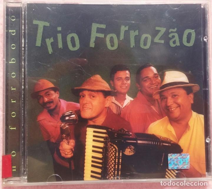 TRIO FORROZÃO - NO FORROBODÓ (NATASHA RECORDS, 1999) /// ED. BRASIL ORIGINAL, RARO /// SAMBA / AXÉ (Música - CD's World Music)