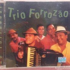 CDs de Música: TRIO FORROZÃO - NO FORROBODÓ (NATASHA RECORDS, 1999) /// ED. BRASIL ORIGINAL, RARO /// SAMBA / AXÉ . Lote 168721096