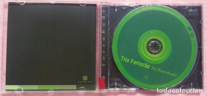 CDs de Música: Trio Forrozão - No Forrobodó (Natasha Records, 1999) /// ED. BRASIL ORIGINAL, RARO /// SAMBA / AXÉ - Foto 2 - 168721096