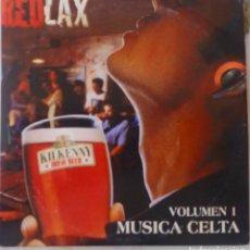 CDs de Música: RED LAX. MUSICA CELTA VOL 1. THE CHIEFTAINS. CLANNAD... CD 3 TEMAS PROMOCIONAL. PORTADA CARTON.. Lote 168774628