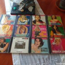 CDs de Música: 12 CD'S MÚSICA, SALSA, MERENGUE ETC.... Lote 168824818