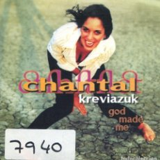 CDs de Música: CHANTAL KREVIAZUK / GOD MADE ME (CD SINGLE CARTON 1996)). Lote 168837388