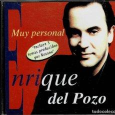 CDs de Música: ENRIQUE DEL POZO - MUY PERSONAL - CD DE 1997 RF-2220 , PERFECTO ESTADO. Lote 168869388