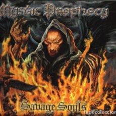 CDs de Música: MYSTIC PROPHECY - SAVAGE SOULS- CD+DVD DIGIBOOK. Lote 168917132