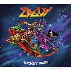 CDs de Música: EDGUY - ROCKET RIDE - CD DIGIBOOK. Lote 168957928