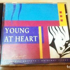 CDs de Música: CD- DOBLE-VARIOS -YOUNG AT HEART- 1-2 AÑO 1993. 30 CANCIONES.EDICIÓN ALEMANA / GERMAN ISSUE TIME-LIF. Lote 168978456