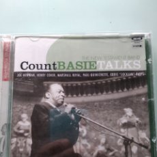 CDs de Música: COUNT BASIE, THE NEW TESTAMENT BAND ‎– BASIE TALKS. Lote 169020880