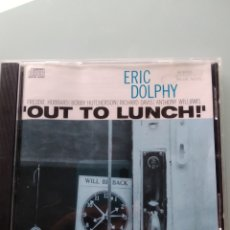 CDs de Música: ERIC DOLPHY – OUT TO LUNCH!. Lote 169023320