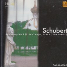 CDs de Música: SCHUBERT. TBILISI SYMPHONY ORCHESTRA. Lote 169024052