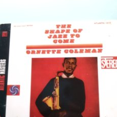 CDs de Música: ORNETTE COLEMAN ‎– THE SHAPE OF JAZZ TO COME. Lote 169024784