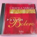 CDs de Música: CD-CHAVELA VARGAS-PASIÓN BOLEROS-1999-12 TEMAS-VER FOTOS. Lote 169042564
