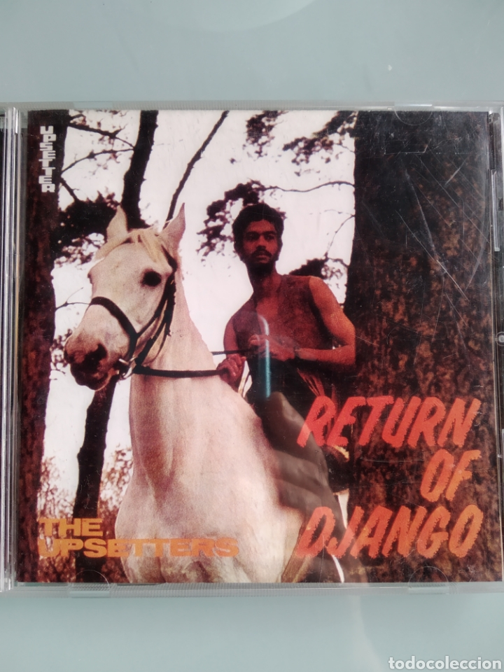 THE UPSETTERS – RETURN OF DJANGO (RARÍSIMO DE TROJAN) (Música - CD's Reggae)