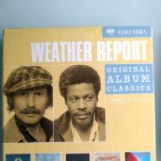 CDs de Música: WEATHER REPORT – ORIGINAL ALBUM CLASSICS. Lote 169068980