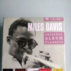 CDs de Música: MILES DAVIS – ORIGINAL ALBUM CLASSICS. Lote 169069184