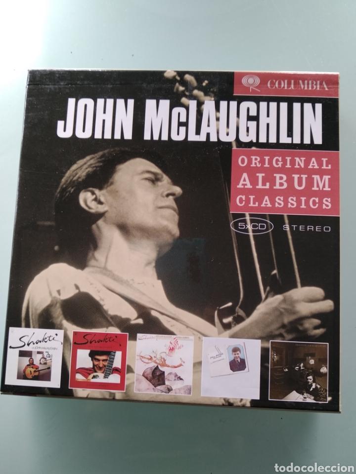 JOHN MCLAUGHLIN – ORIGINAL ALBUM CLASSICS (Música - CD's Jazz, Blues, Soul y Gospel)