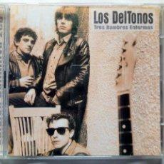 CDs de Música: 2 X CD: LOS DELTONOS - TRES HOMBRES ENFERMOS, LA EDICION DEFINITIVA (DRO, 2002). Lote 169072692