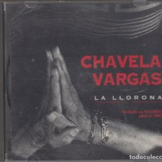 CDs de Música: CHAVELA VARGAS CD LA LLORONA GRABADO EN MADRID 1993. Lote 169086324